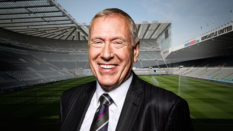 Martin Tyler doesn't like the numbers on the back of the famous black and white shirts!
