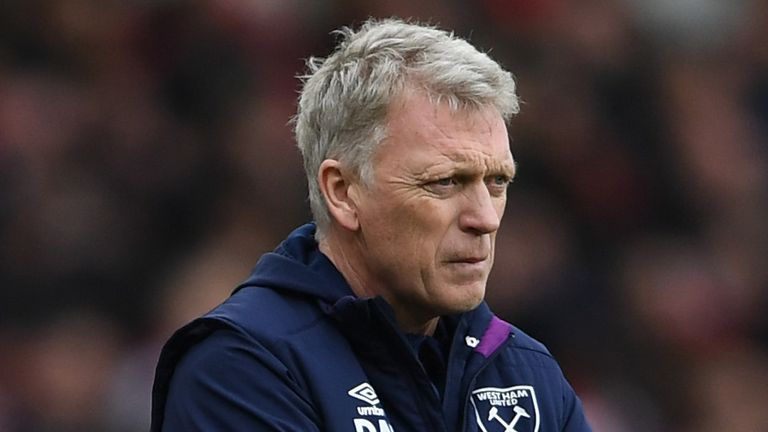 Moyes has lost eight of his 13 games in charge of West Ham this year