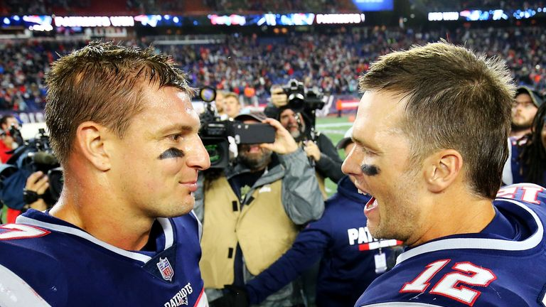 Brady will be reunited with ex-Patriots team-mate Rob Gronkowski in Tampa