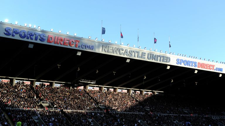 Ashley has been owner at St James' Park since 2007