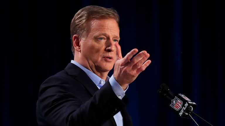 NFL Commissioner Roger Goodell will be among the guests as we look ahead to the new NFL season