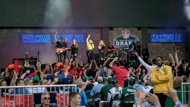 Last year's NFL Draft in Nashville highlighted the city's country music heritage