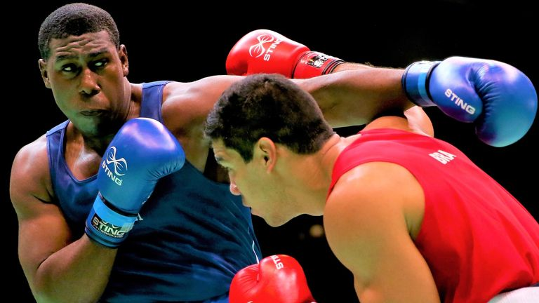 Nigel Paul is the latest super-heavyweight hope for Trinidad and Tobago