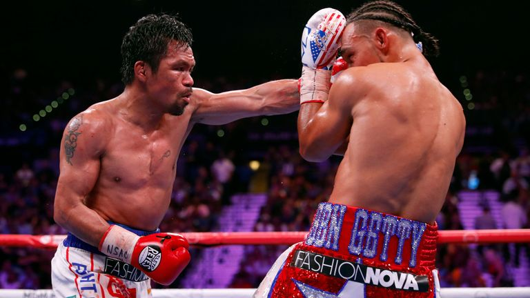 Pacquiao is the WBA welterweight champion