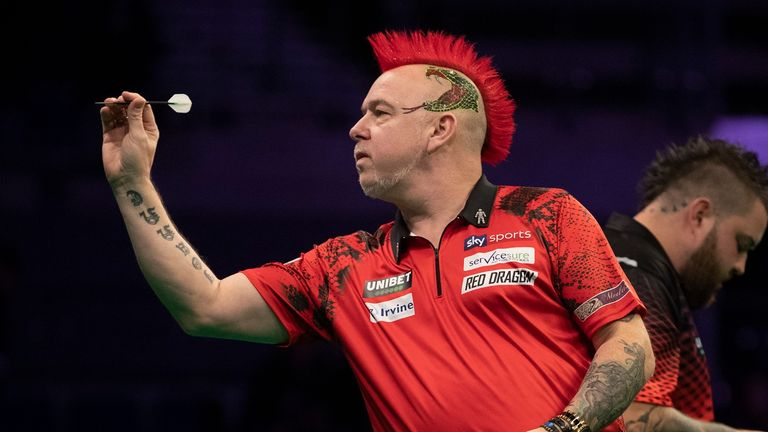 Wright was beaten by Daryl Gurney in last year's quarter-finals