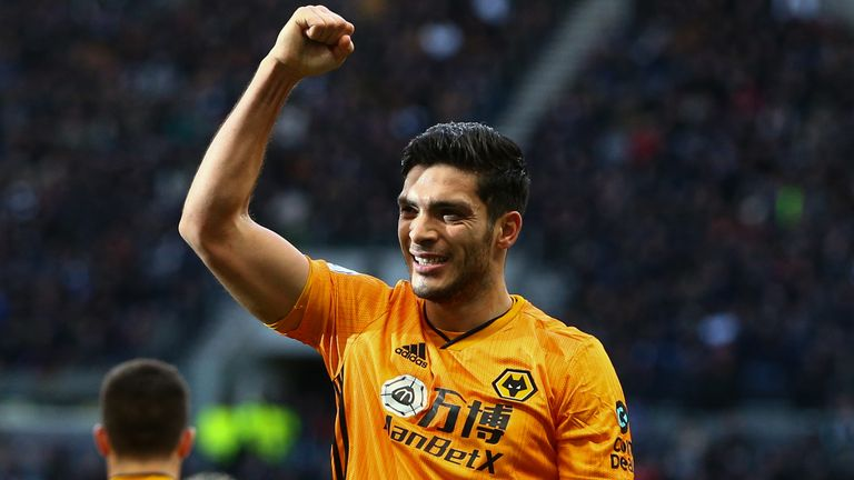 Jimenez has scored 15 goals in the Premier League this season