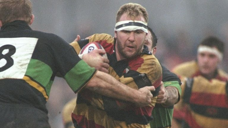 Scott Quinnell on the charge for Richmond