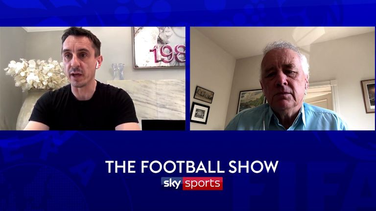 EFL chair Rick Parry appeared on The Football Show on Friday morning