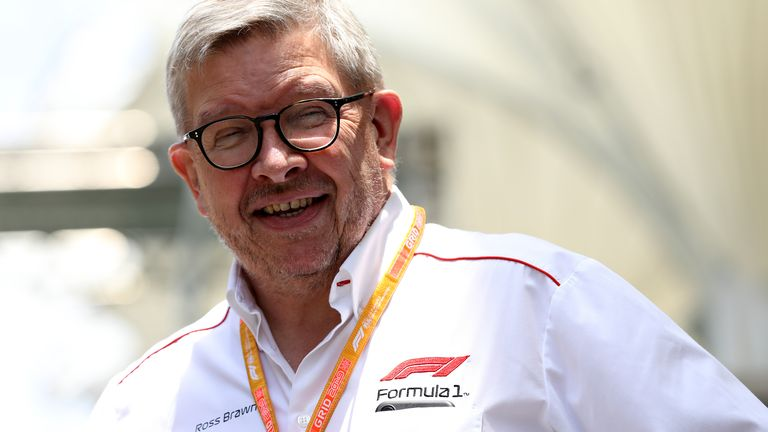 F1's managing director of motorsports Ross Brawn tells Sky F1 that the 2020 season could start without fans in attendance.