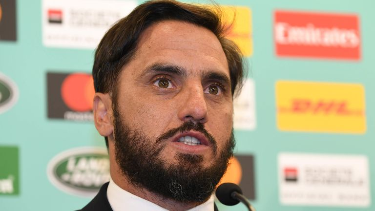 Agustin Pichot has stepped down from the World Rugby Council