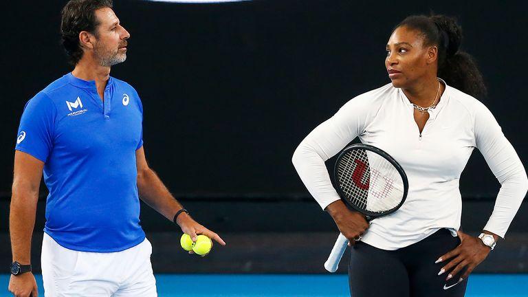 Mouratoglou coaches Serena Williams and Coco Gauff