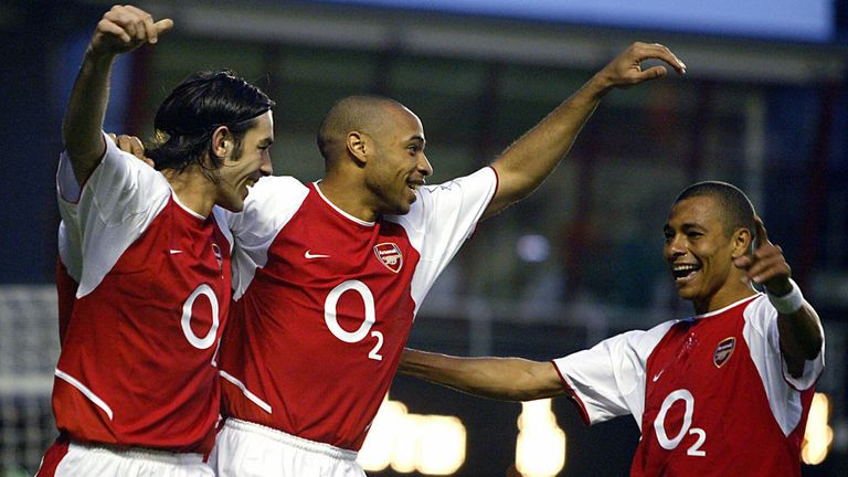 Would Thierry Henry make it into the starting line-up in 'The Greatest Squad'?