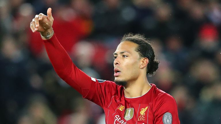 Van Dijk was named PFA Player of the Year last season