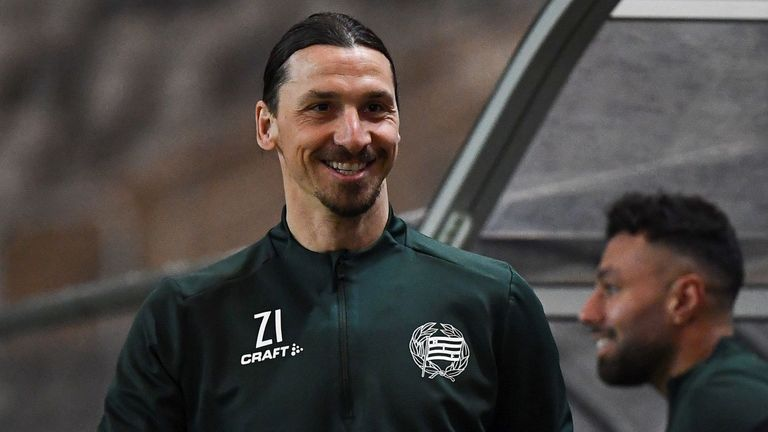 Zlatan Ibrahimovic Scores In Friendly For Another Club