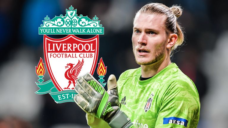 Loris Karius is expected to return to Anfield after his loan has been settled in Besiktas