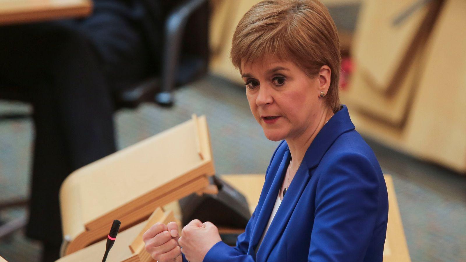 Coronavirus: Outdoor sports to resume in Scotland, confirms Nicola Sturgeon