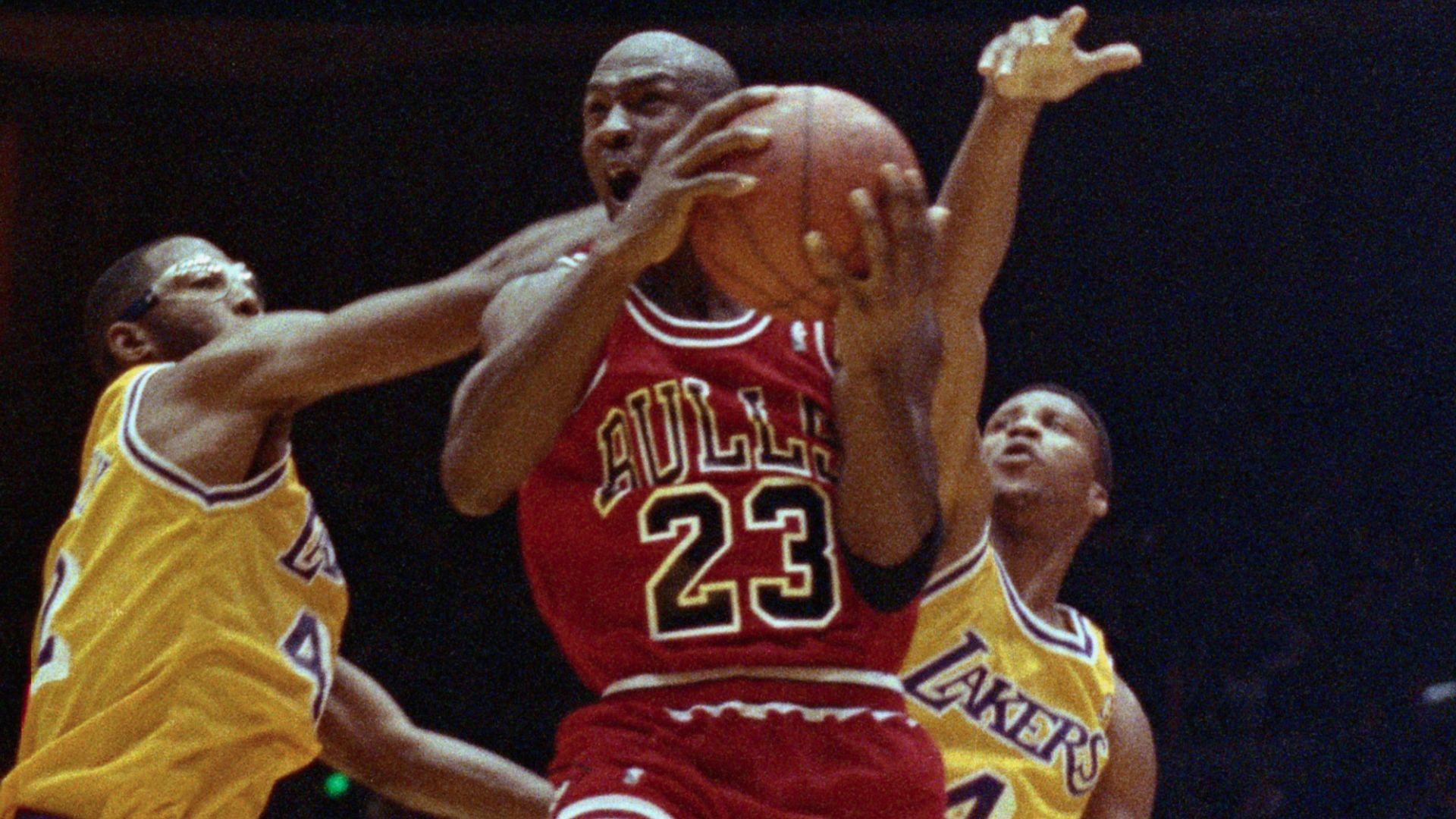 NBA Retro: Bulls @ Lakers 1991 Finals Gm 5