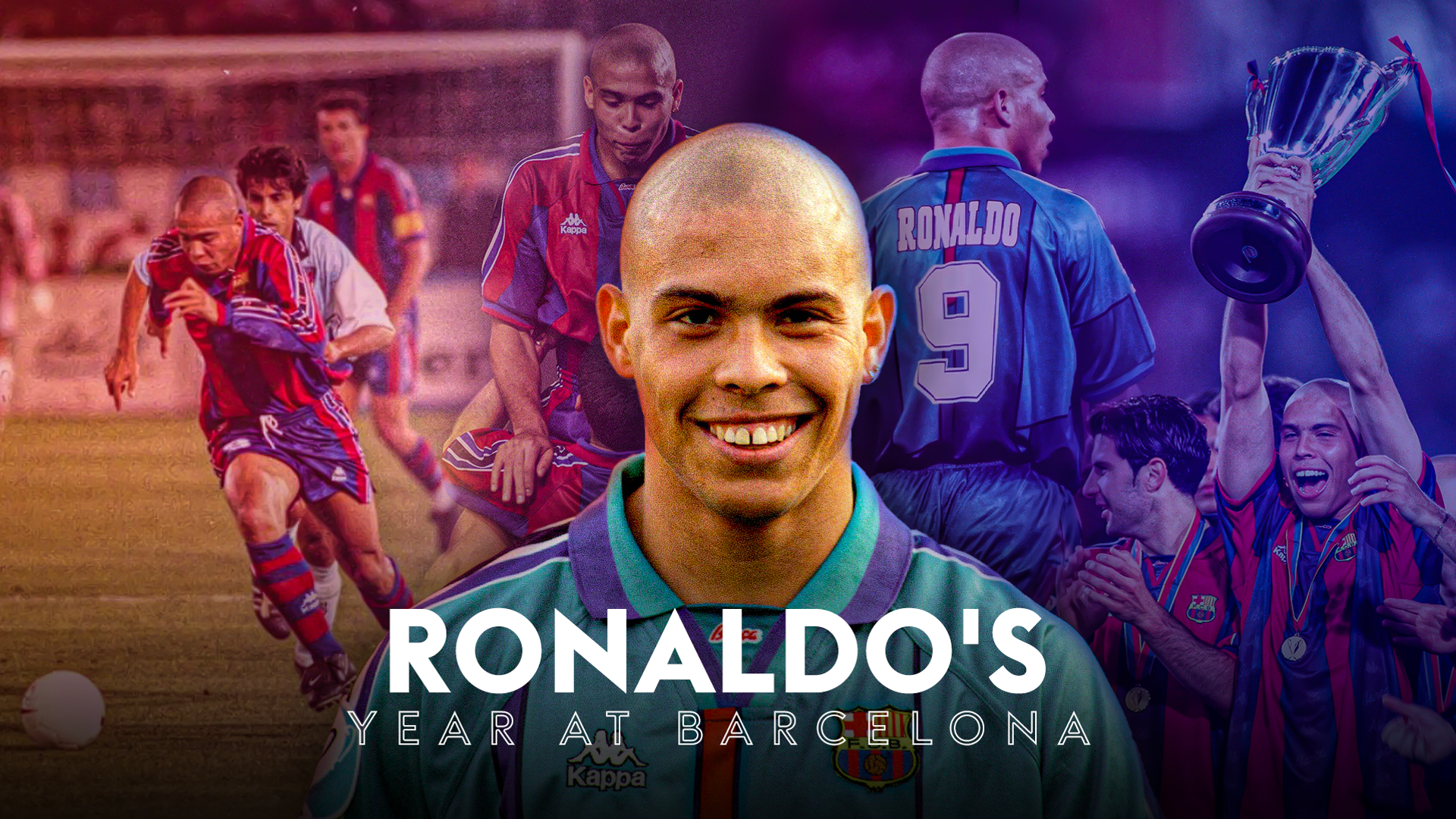 Ronaldo's year at Barcelona