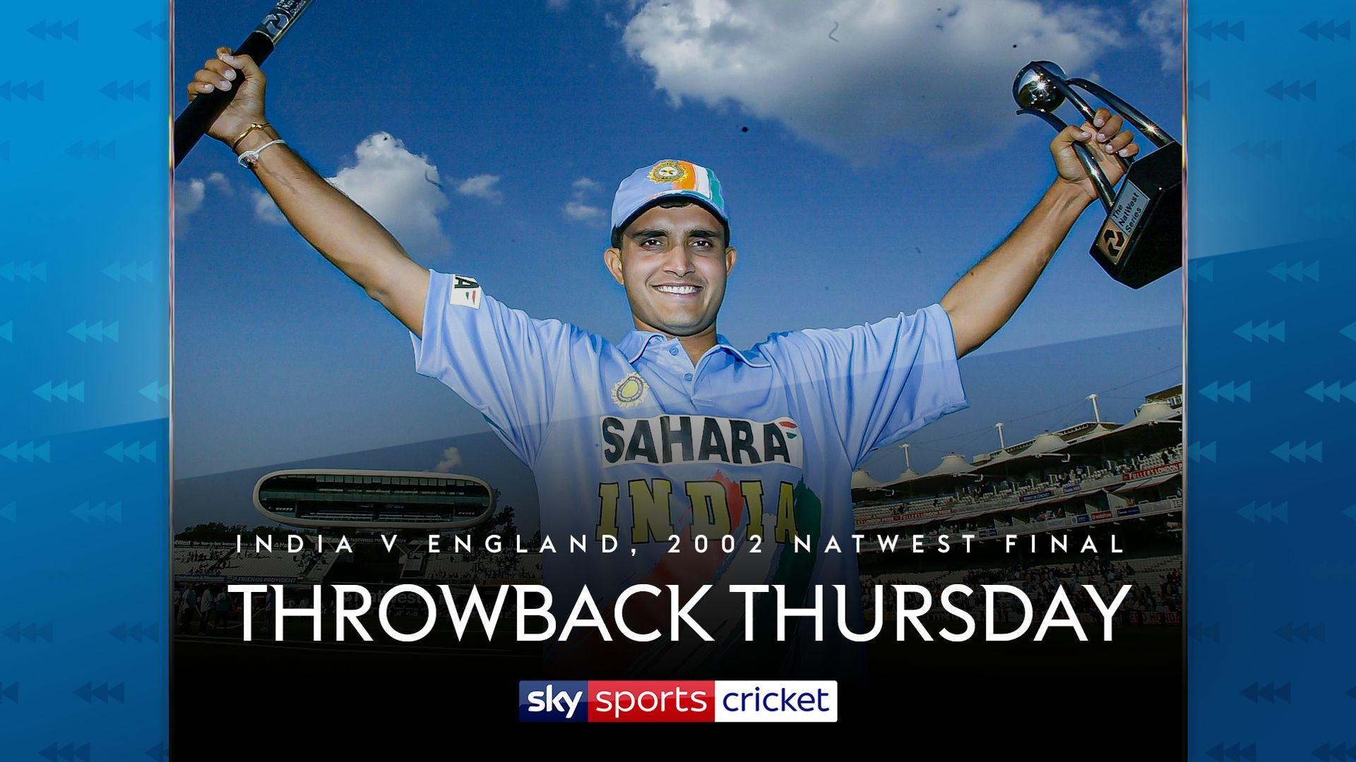 Throwback Thursday: India's '02 final stunner