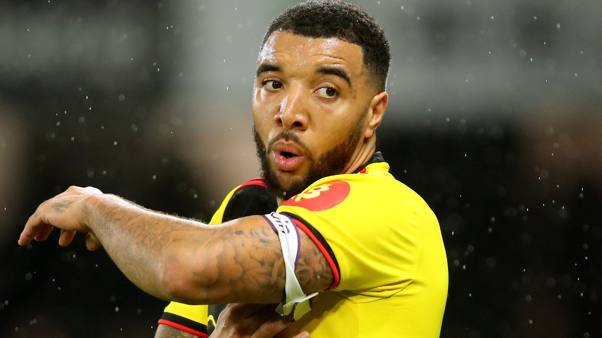 Deeney doesn't train but expected to take test