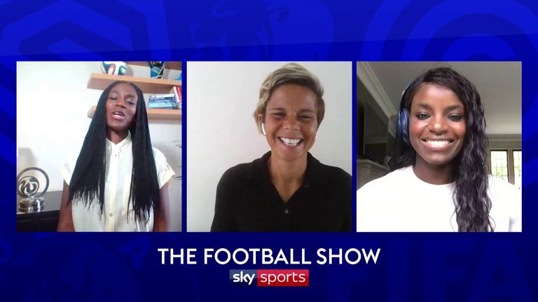 Sue Smith and Eniola Aluko named their greatest ever England XI on the first of our special women's editions of The Football Show