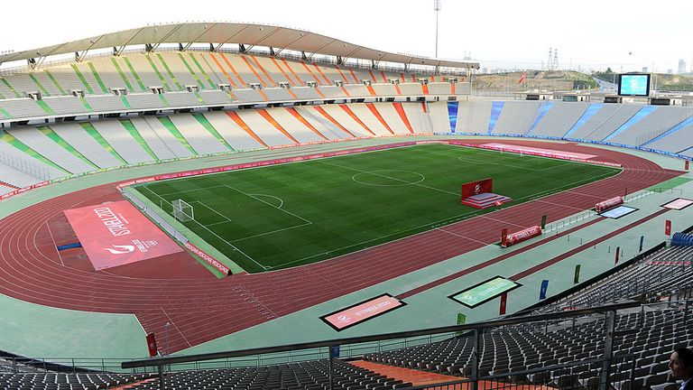The Atatürk Olympic Stadium in Istanbul is scheduled to host this year's Champions League final