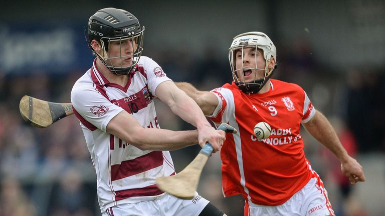 Rogers is well accustomed to hurling at the top level in the winter months with Slaughtneil