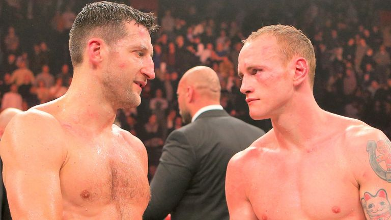 Carl Froch shared two fights with George Groves