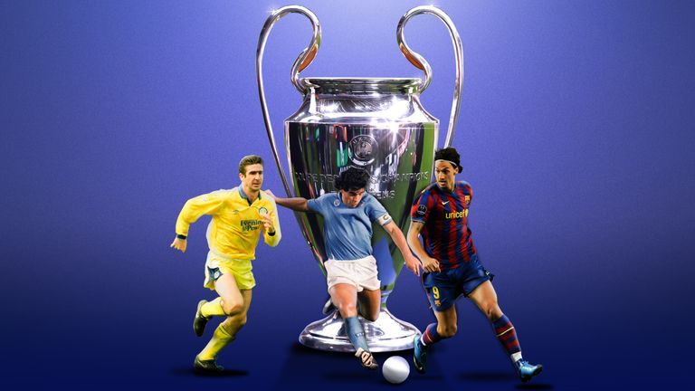 Sky Sports begins its countdown of the 50 best players never to win the Champions League