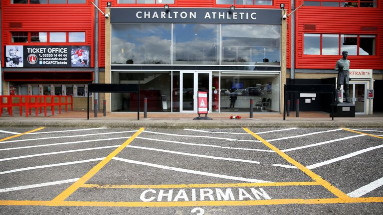 Charlton have endured a troubled ownership this season