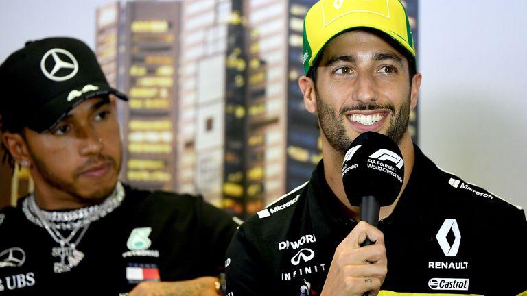 Daniel Ricciardo speaks to Sky Sports F1 about F1's new diversity initiative, Lewis Hamilton, feeling