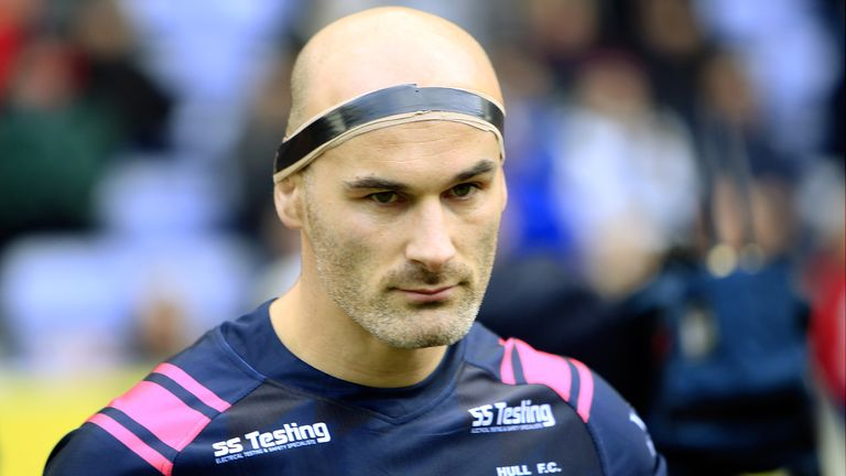 Danny Houghton's tackling would prove vital for the team
