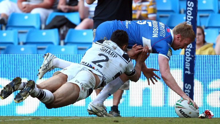 David Hodgson helped Hull KR to a memorable derby win at Magic Weekend in 2012