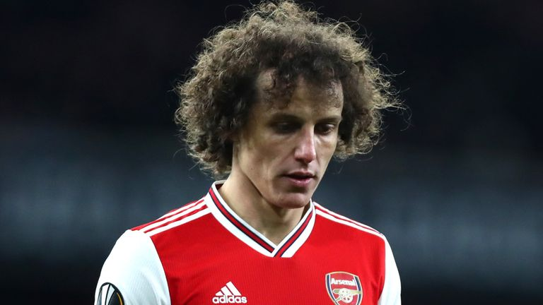 David Luiz could leave Arsenal after just one season