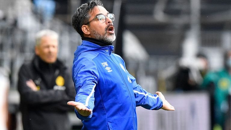 David Wagner could do with a positive result this weekend