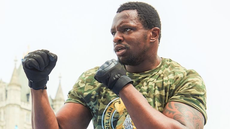 Whyte vs Povetkin on August 22, live on Sky Sports Box Office