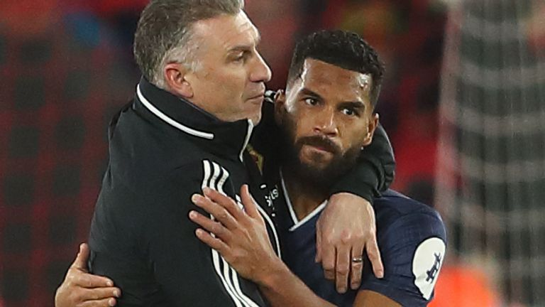 "Nigel Pearson says Adrian Mariappa looked ""exceptionally well"" before test"