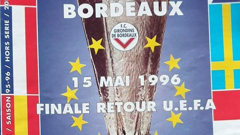 it is 24 years since Anselin appeared for Bordeaux in the UEFA Cup Final against Bayern Munich