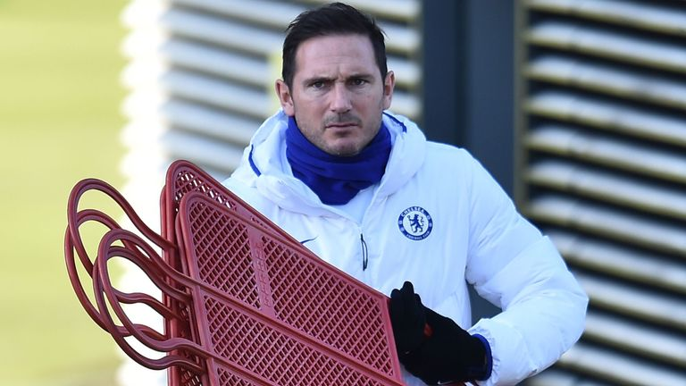 Lampard admits he would like to develop a tactical identity for his side in time
