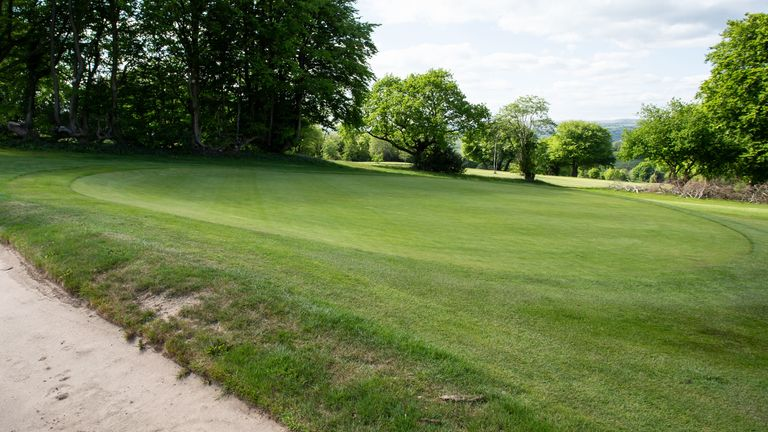 Bryn Meadows is among the courses now able to reopen