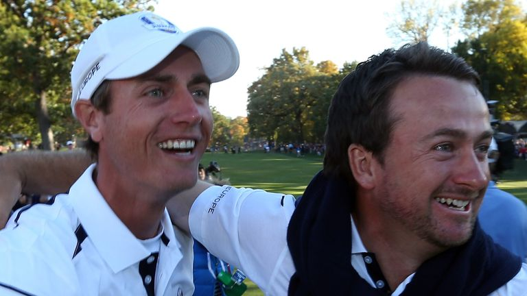 Colsaerts and Graeme McDowell were two of the European players to fail to win their singles matches in Europe's 2012 victory