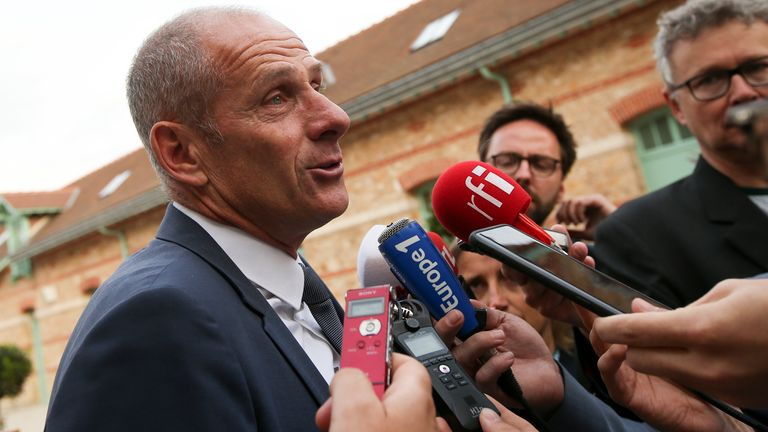 Guy Forget still hopes to have 5,000 fans a day through the gates