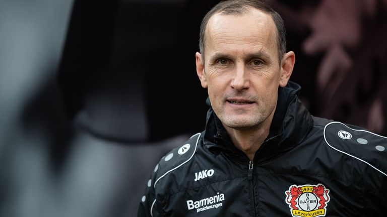 Heiko Herrlich will have to wait to take charge of his first game as Augsburg manager