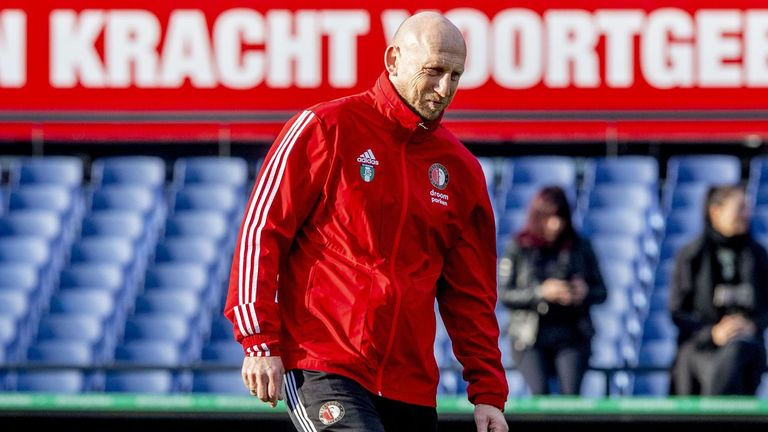 Jaap Stam resigned as Feyenoord head coach in October, 2019