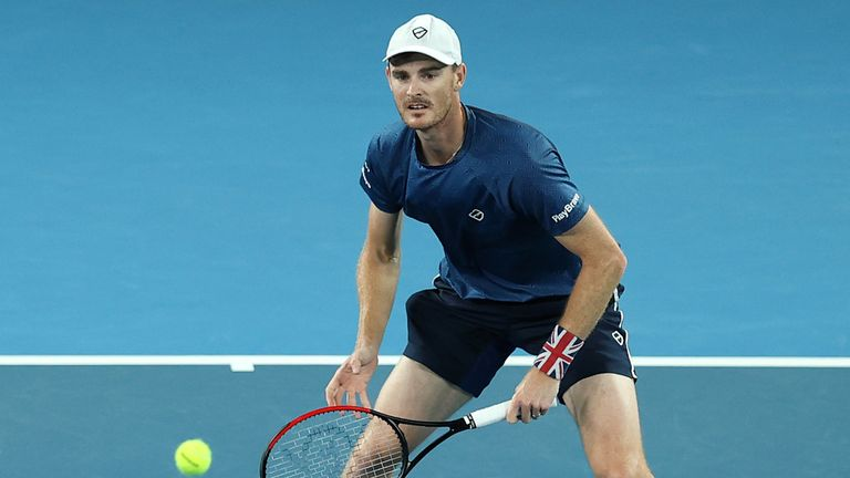 Jamie Murray says the lockdown has been a challenge for everyone in tennis