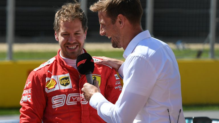 Jenson Button was surprised by the news Sebastian Vettel is leaving Ferrari, and admits he's struggling to understand the reasons behind it