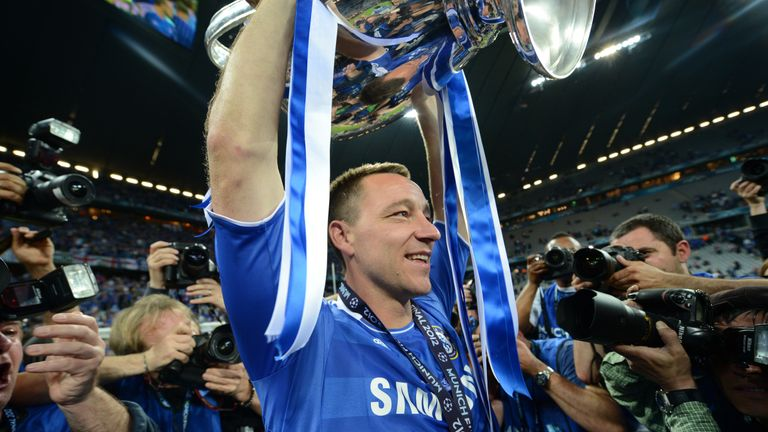 Terry won five FA Cups during his time as a Chelsea player