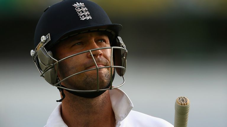 Trott returned home from England's Ashes tour in 2013-14