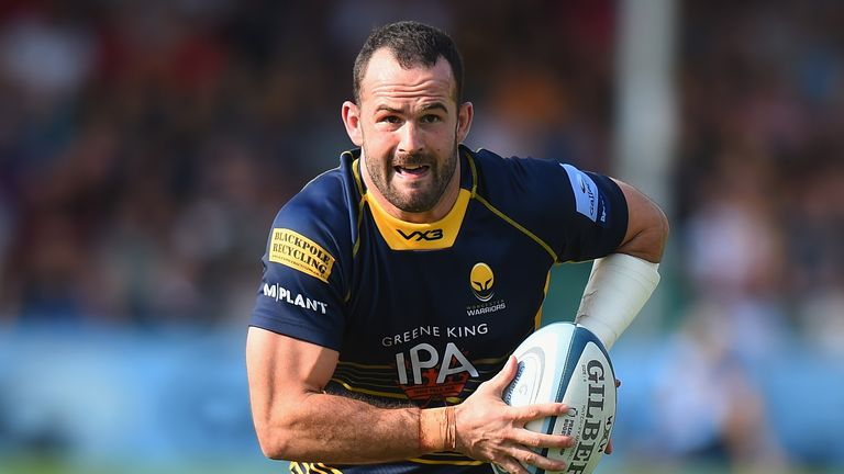 Jono Lance will join Edinburgh from Worcester for the new season