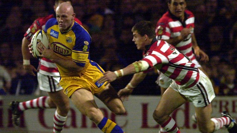 The 2003 play-off clash between Leeds and Wigan is one of the games in our poll